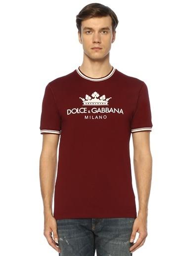 Dolce&Gabbana Tişört Bordo